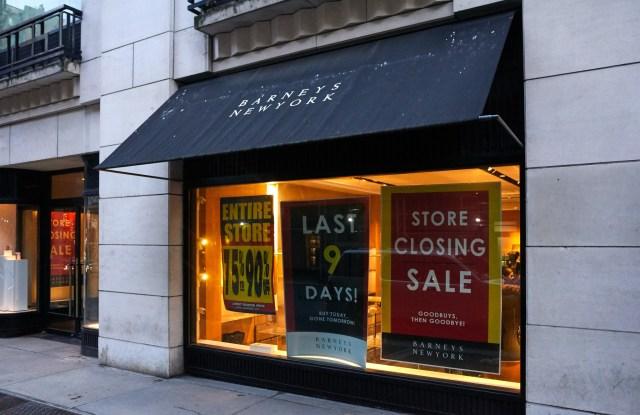 The Last Days of Barneys New York