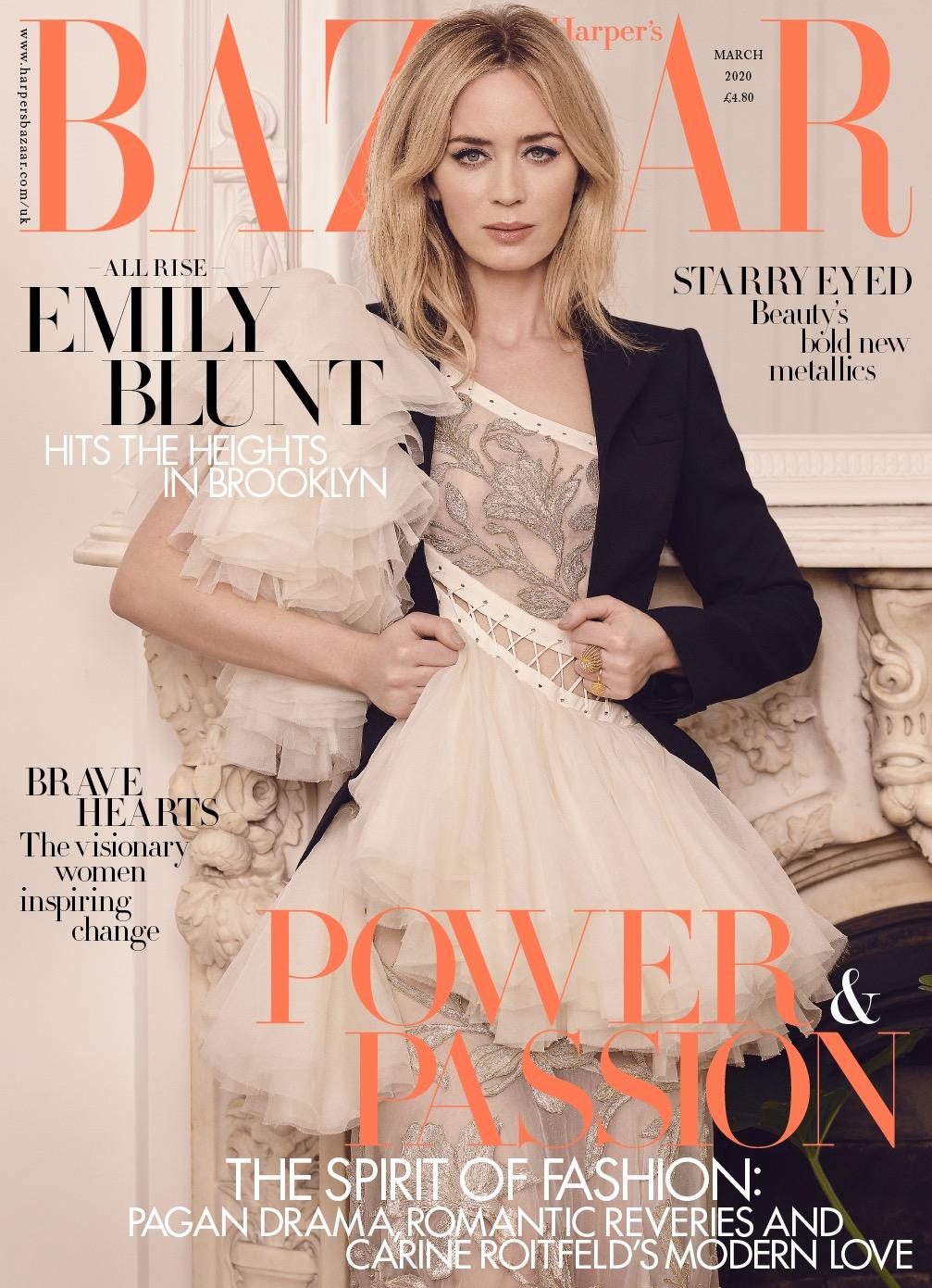 Harper's Bazaar U.K. March issue