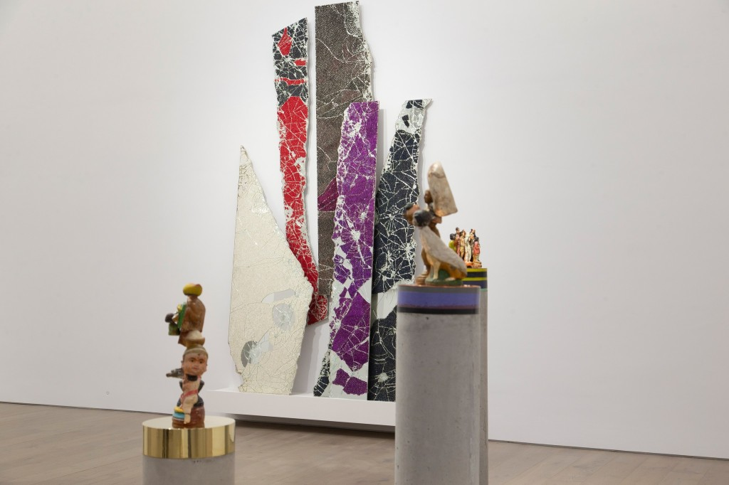 """Bharti Kher's solo exhibit """"The Unexpected Freedom of Chaos"""" at Perrotin, New York."""