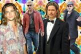 Brad Pitt throughout the years.