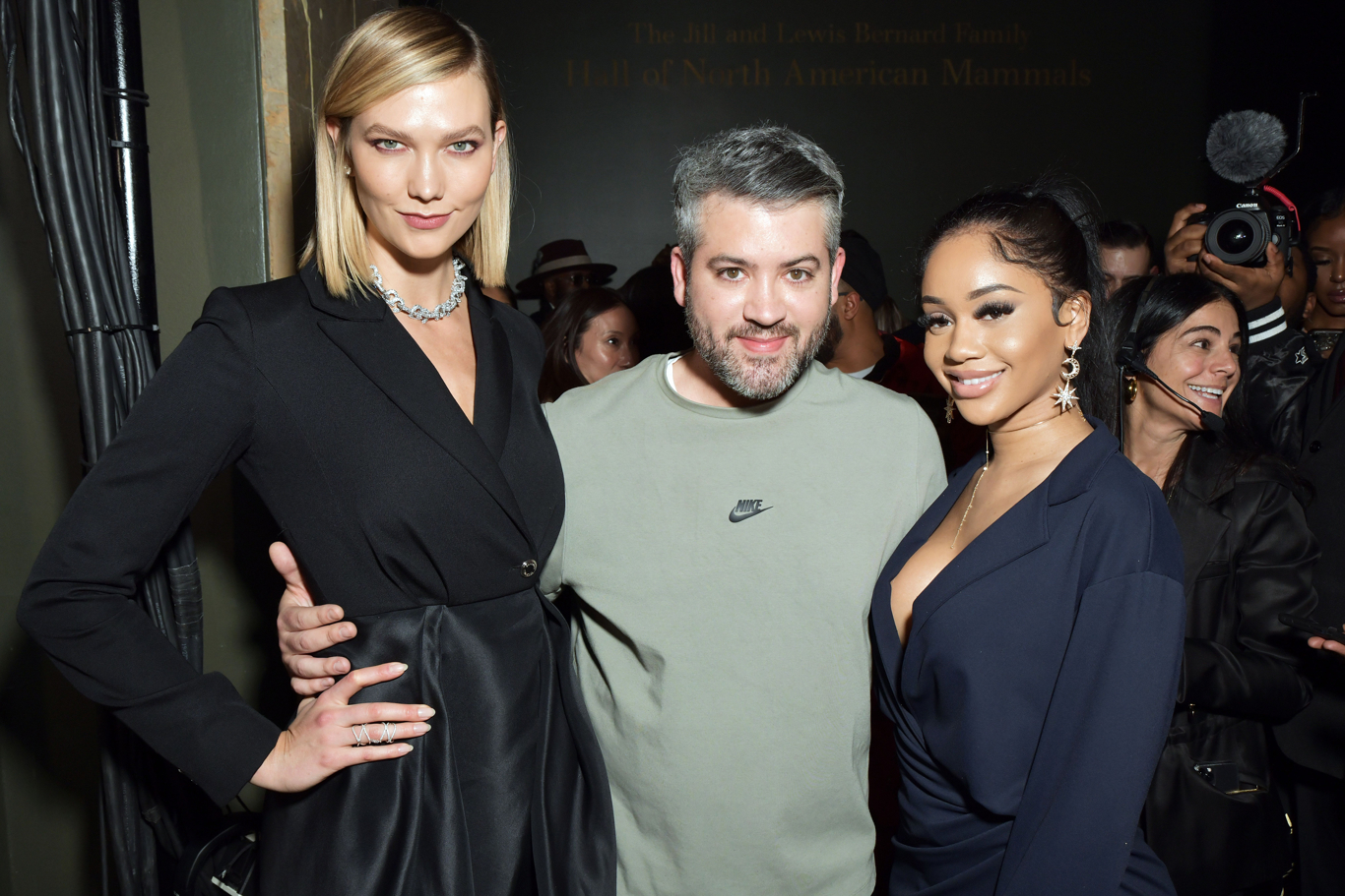 Karlie Kloss, Brandon Maxwell and Saweetie