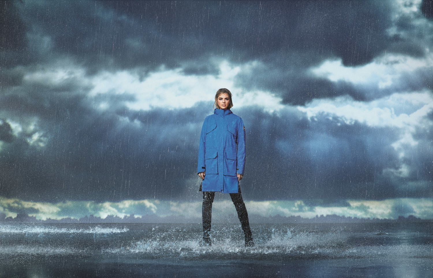 Kate Upton for Canada Goose.