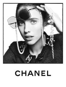 Chanel's new eyewear campaign.