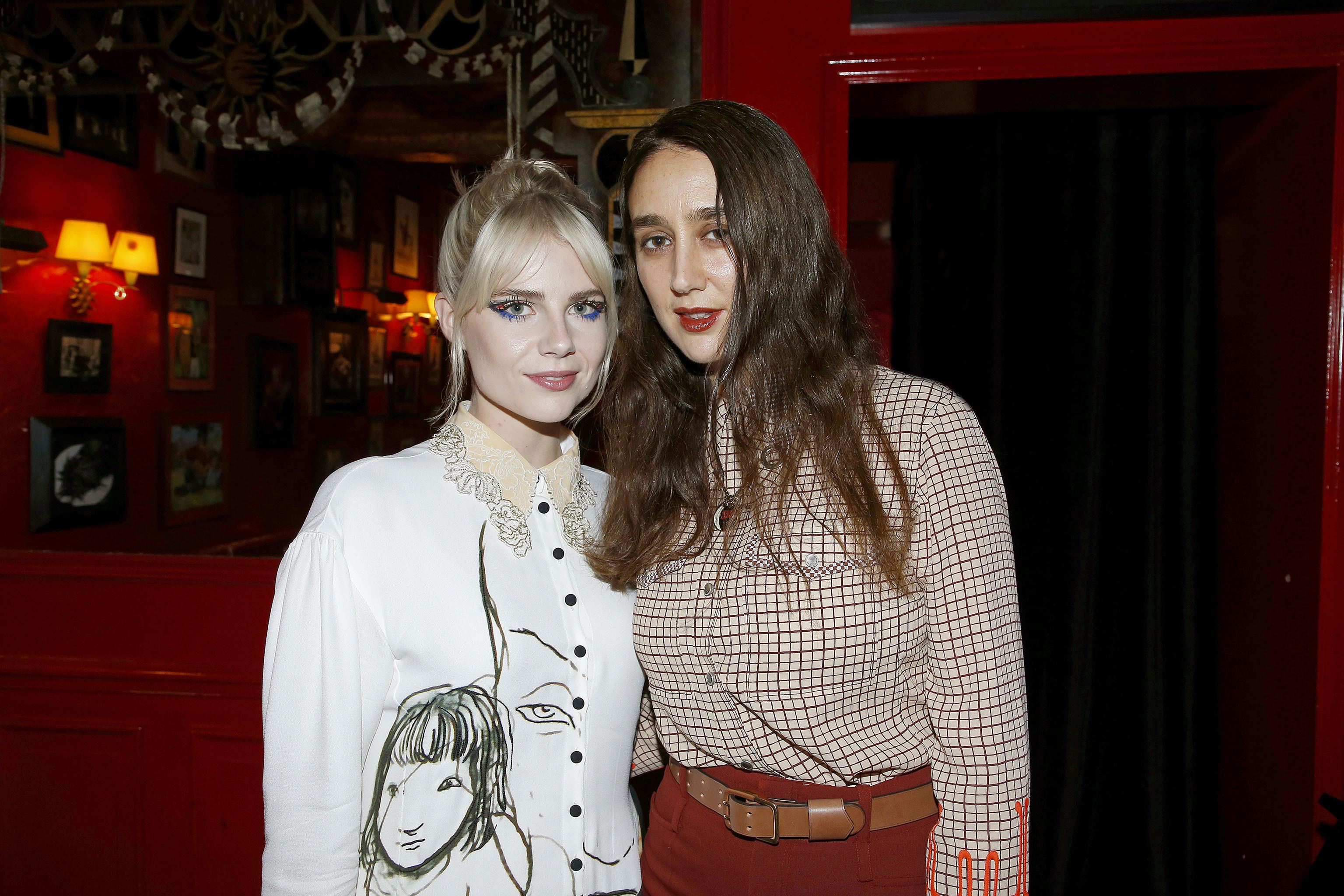 Lucy Boynton and Natacha Ramsay-Levi