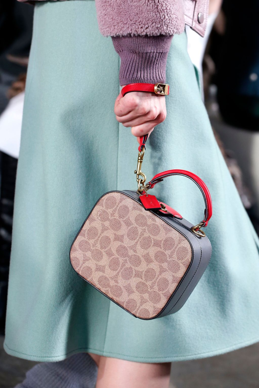 Details at Coach RTW Fall 2020