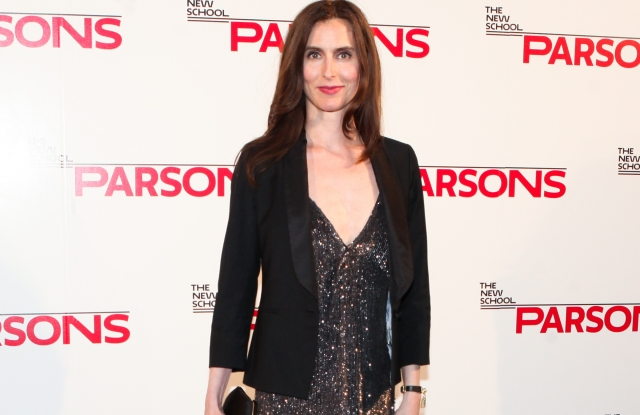Colleen Sherin, (wearing MARC JACOBS)