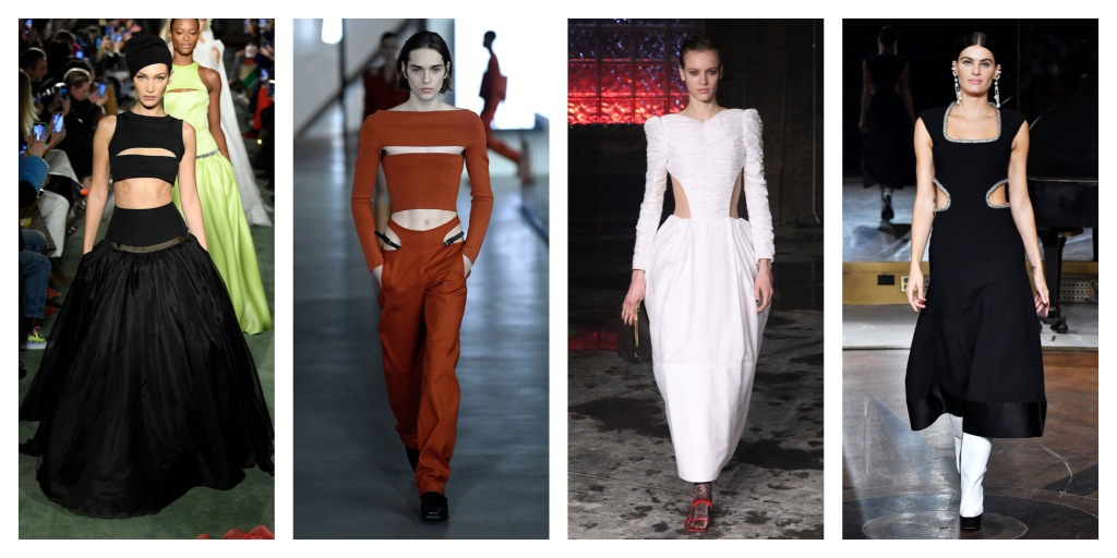 NYFW Fall 2020 Fashion Trend: Cutouts
