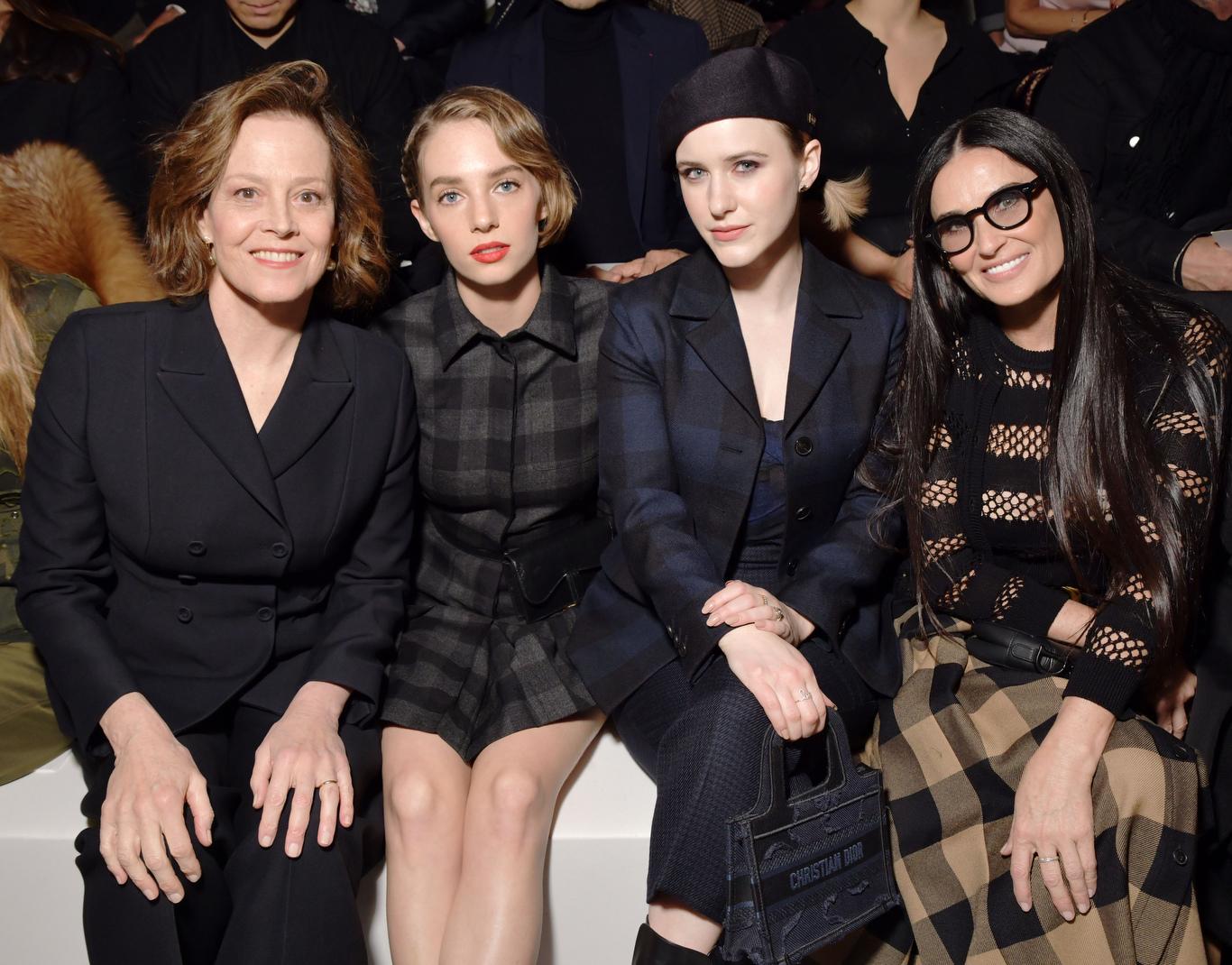Sigourney Weaver, Maya Thurman Hawke, Rachel Brosnahan and Demi Moore