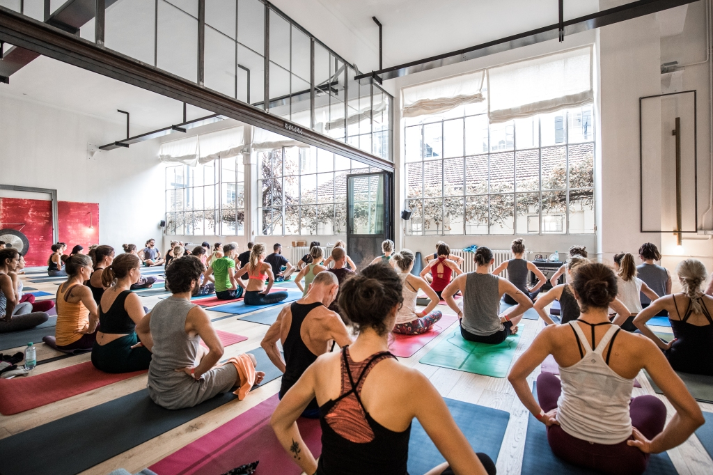 The CityZen yoga center.