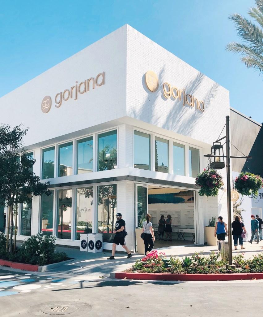 Gorjana's new retail store in Long Beach.