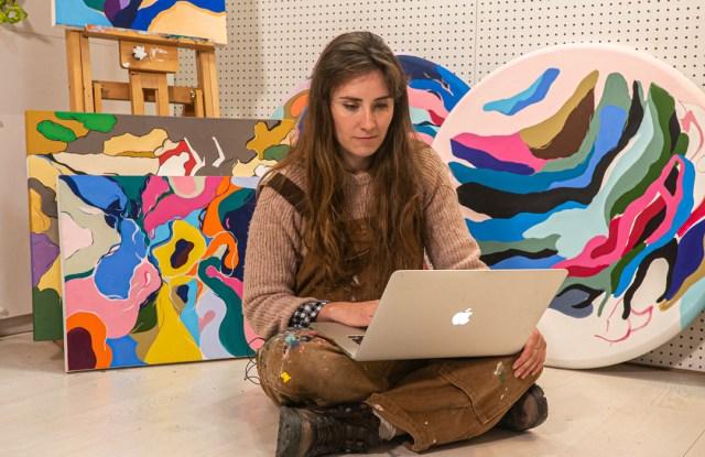 Ellannah Sadkin, Curina artist