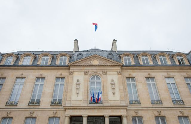 The Élysée palace