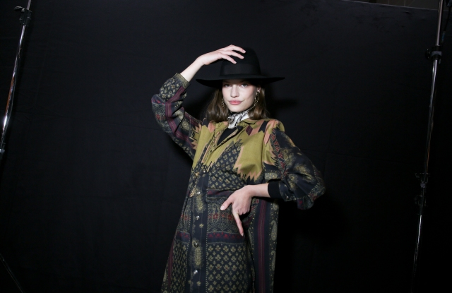 Backstage at Etro RTW Fall 2020