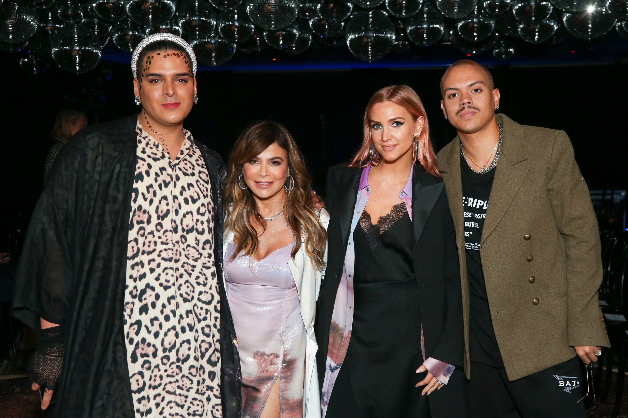 Markus Molinari, Paula Abdul, Ashlee Simpson and Evan Ross