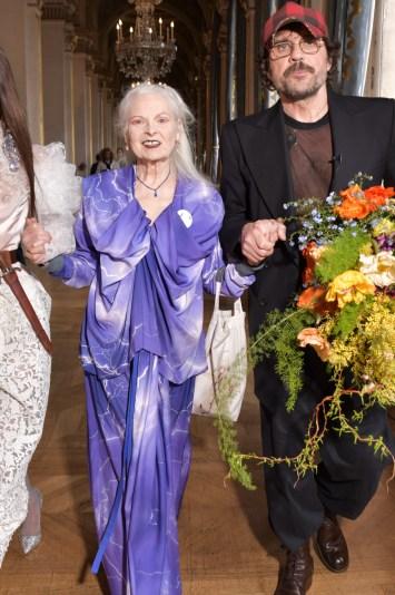 Bella Hadid, Vivienne Westwood and Andreas Kronthaler