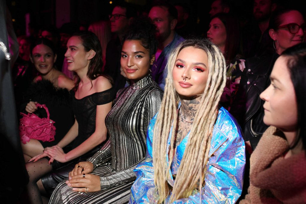 Indiya Moore and Zhavia Ward