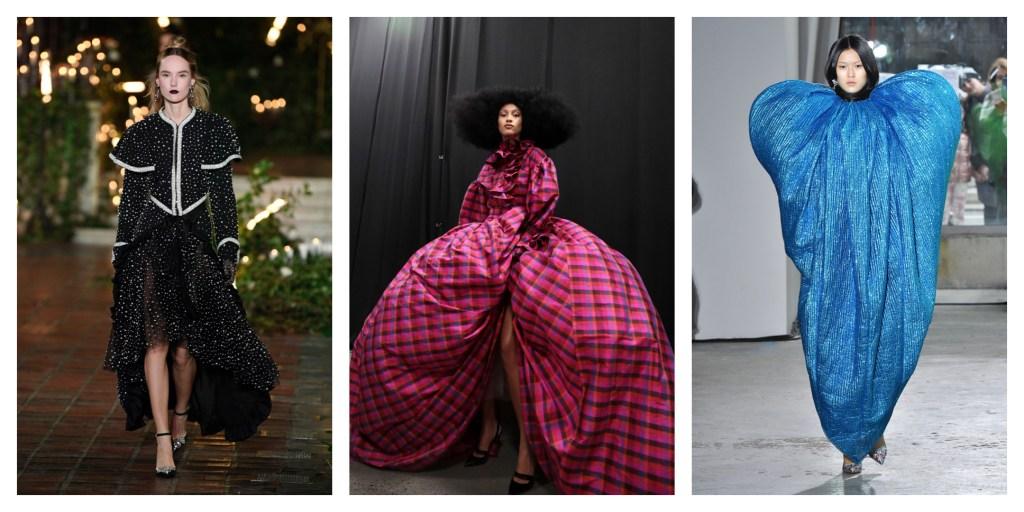 NYFW Fall 2020 Fashion Trend: Glamorous Evening