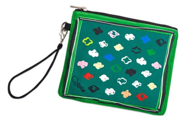The Diane von Furstenberg wristlet for the Girl Scouts.