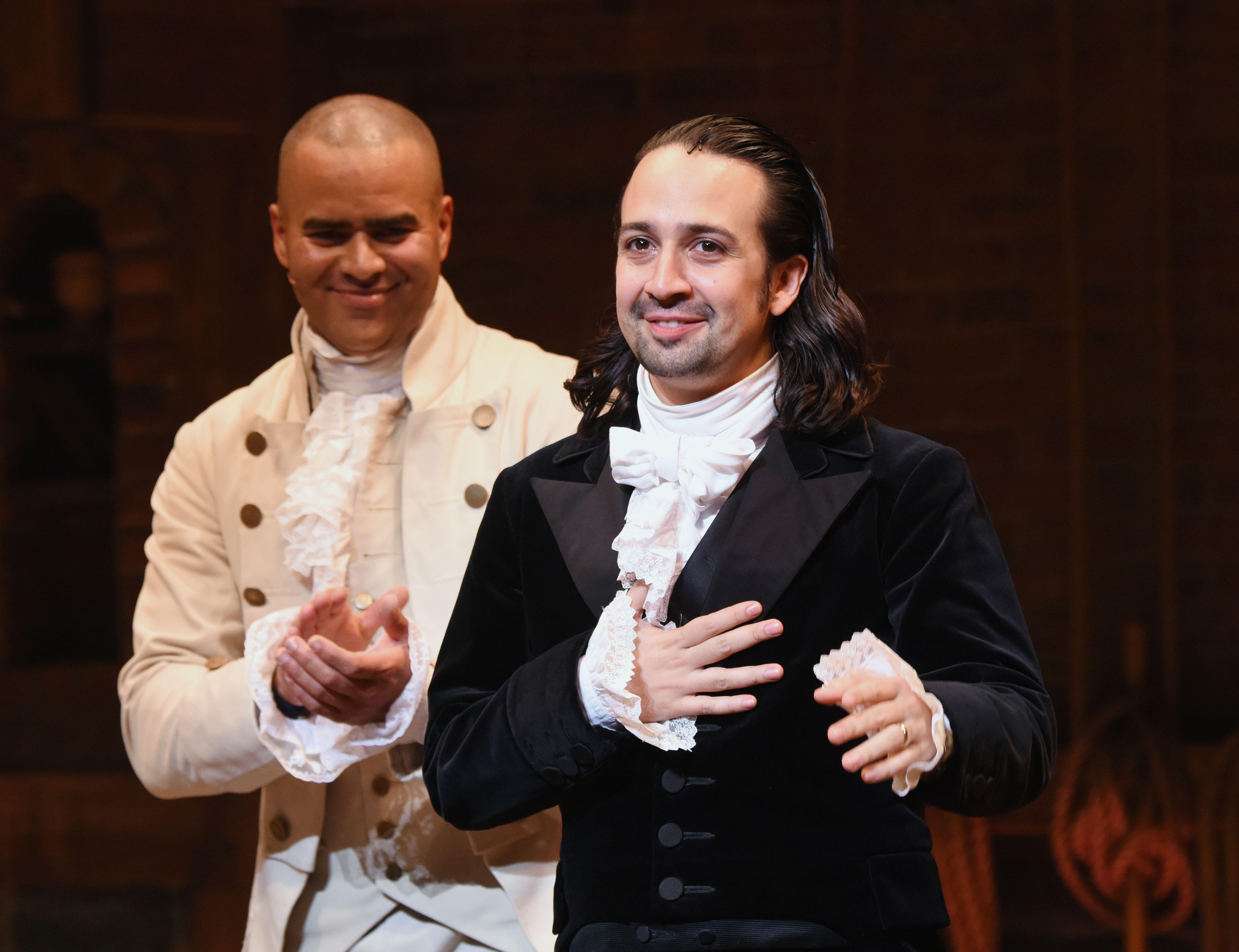 "Broadway's ""Hamilton"" Turned Into Film With Original Cast"