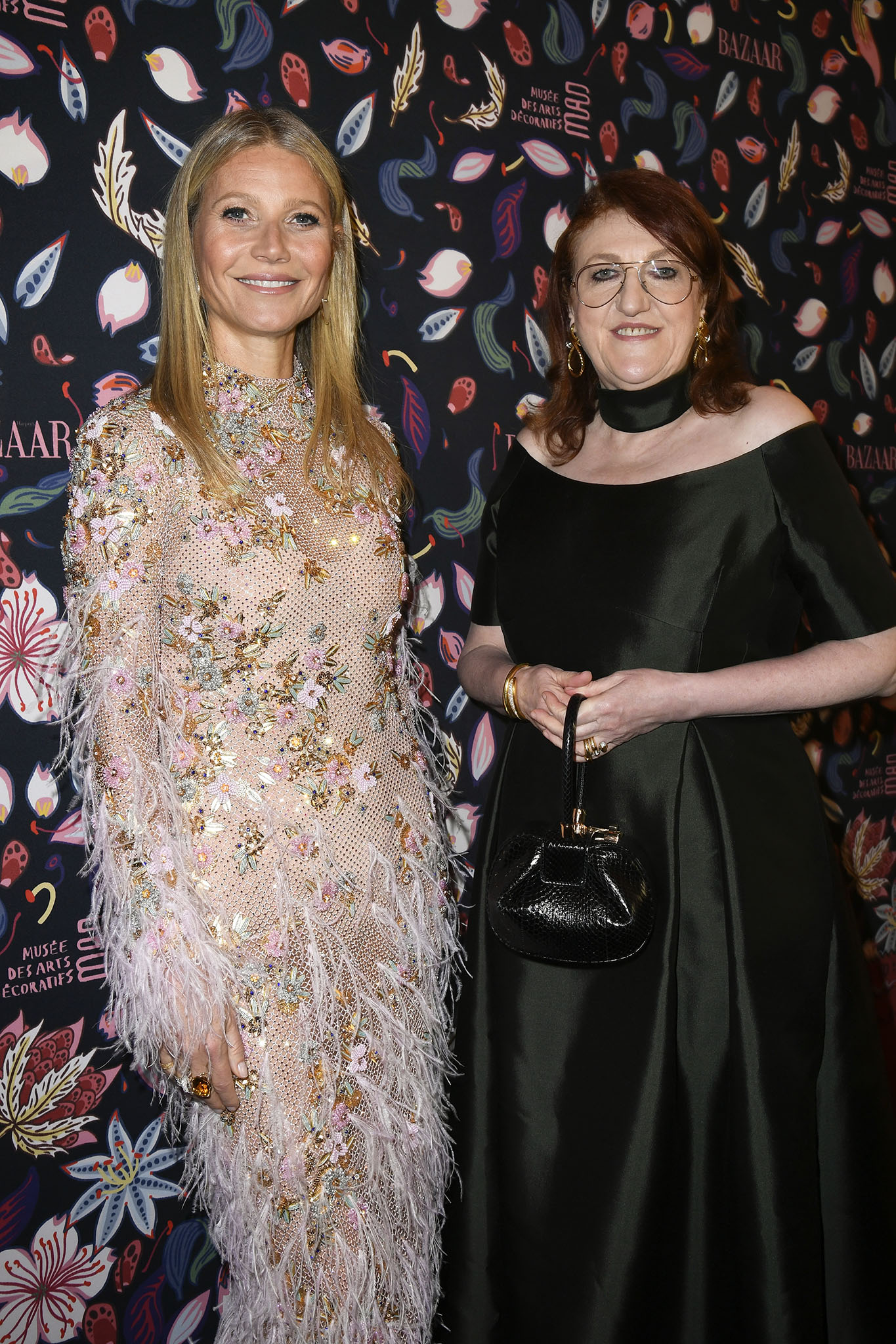 Gwyneth Paltrow and Dame Glenda Bailey