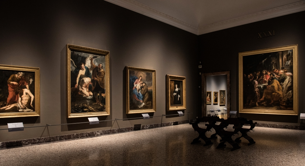 The Pinacoteca di Brera art gallery.