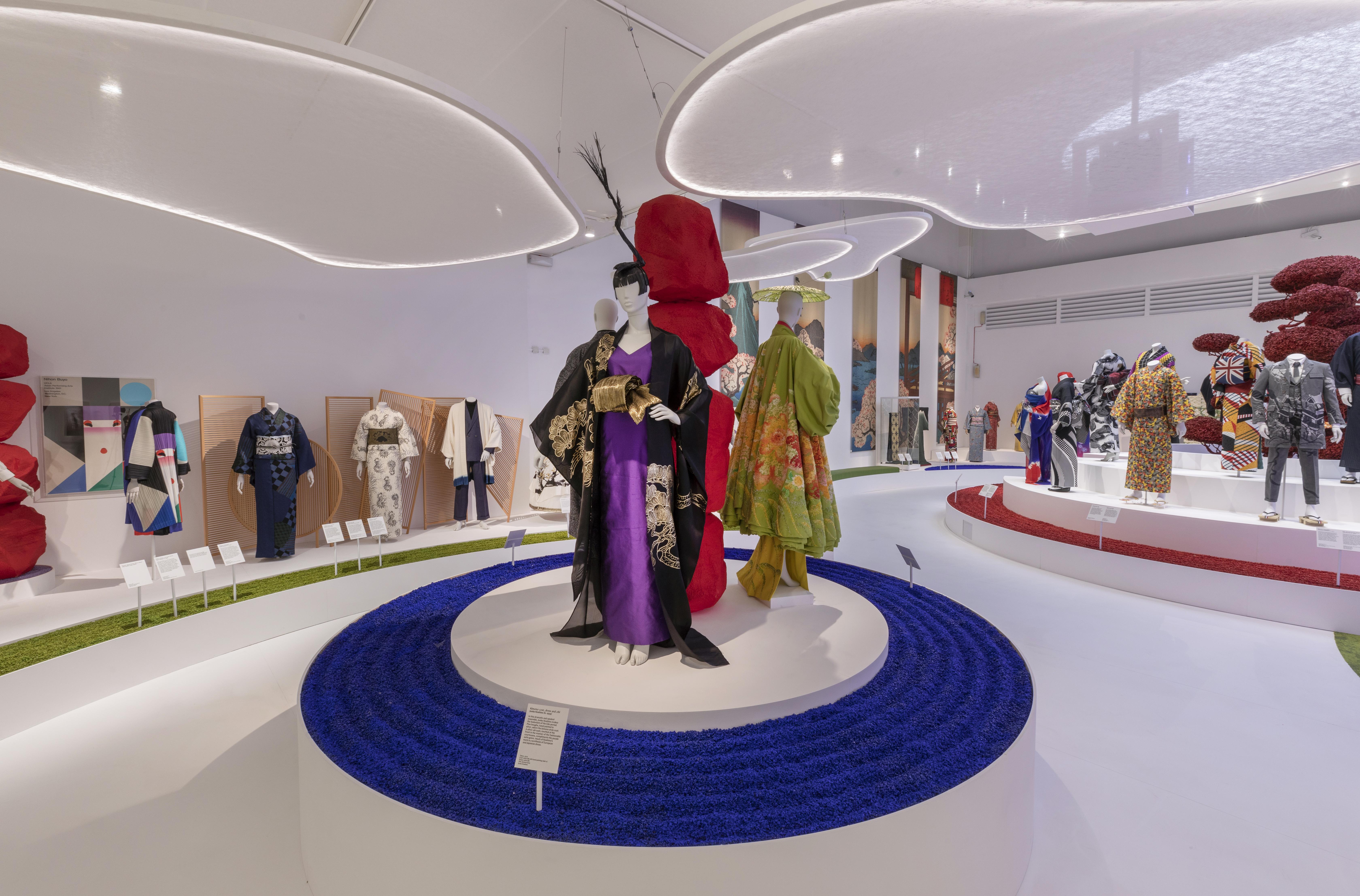 "Kimono Exhibition ""Kimono: Kyoto to Catwalk"" at the V&A"