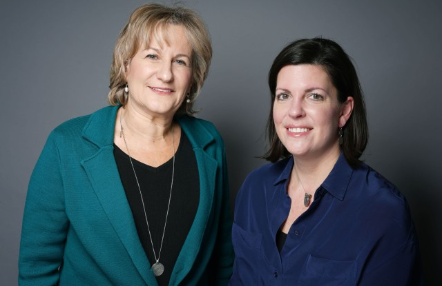 Irene Rosen Marks and Lynne Whitmore of Wells Fargo.