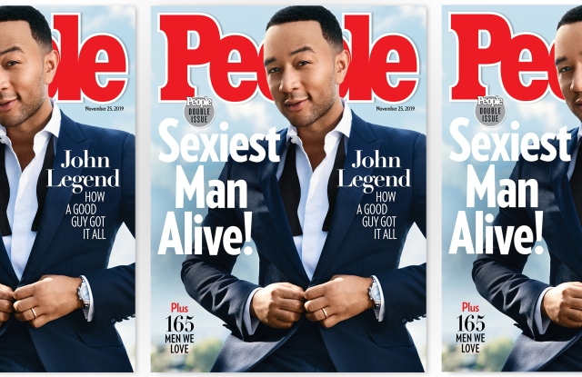 People's Sexiest Man Alive issue.