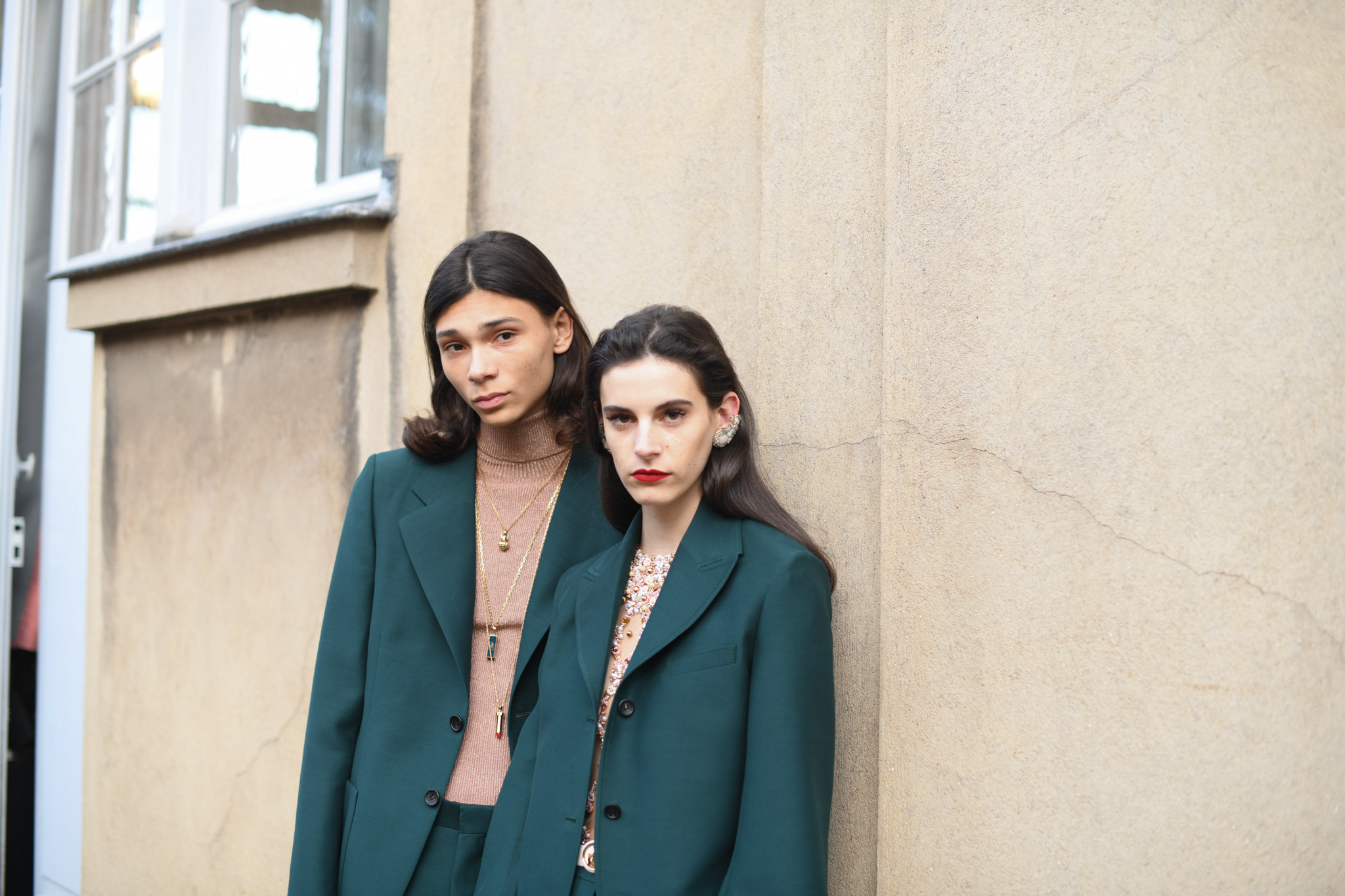 Backstage at Lanvin RTW Fall 2020