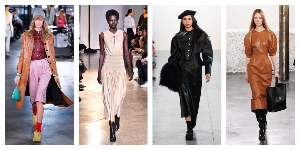 NYFW Fall 2020 Fashion Trend: Leather