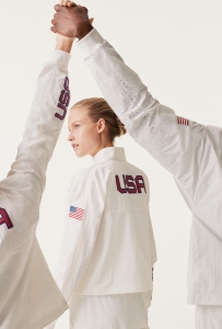 The Medal Stand uniforms for the U.S. team.
