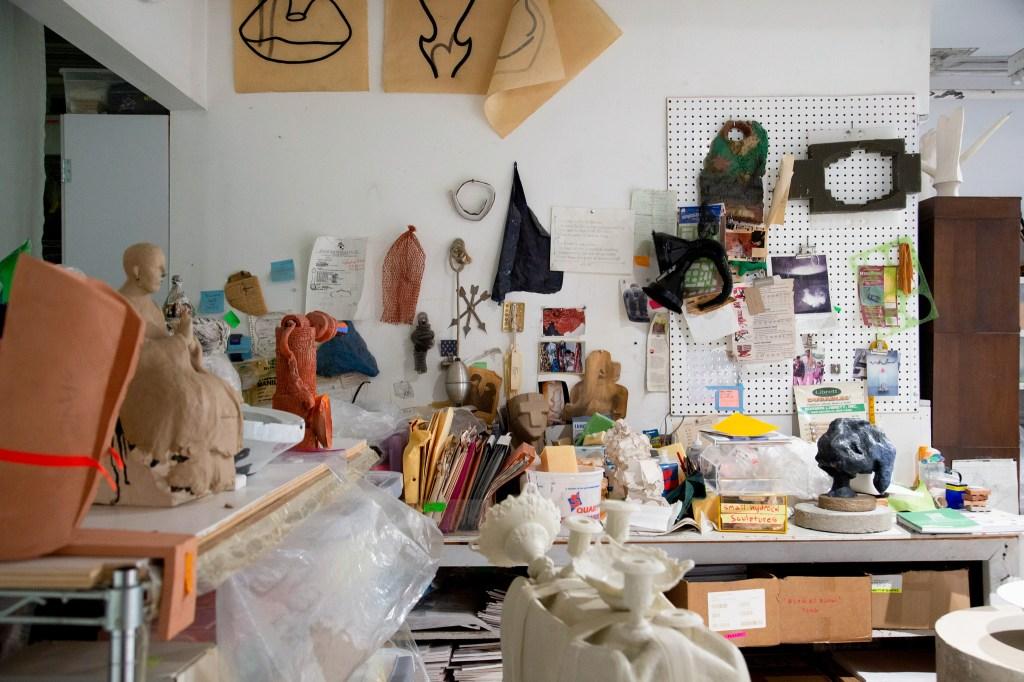 Arlene Schechet's studio in New York City.
