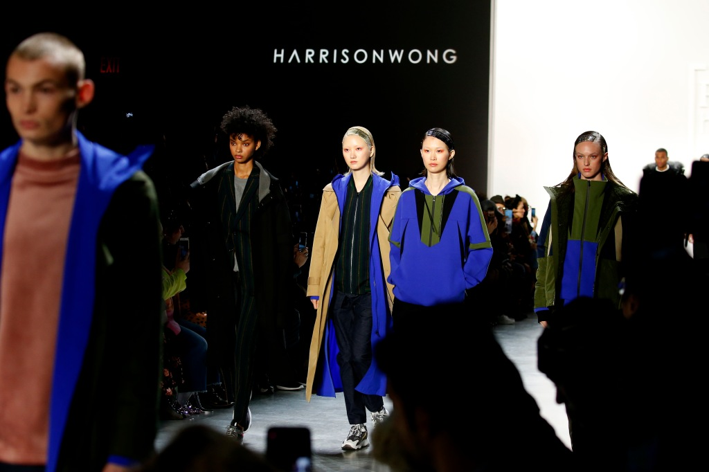 NEW YORK, NEW YORK - FEBRUARY 06: Models walk the runway for Fashion Hong Kong during New York Fashion Week: The Shows at Gallery I at Spring Studios on February 06, 2020 in New York City. (Photo by John Lamparski/Getty Images for NYFW: The Shows)