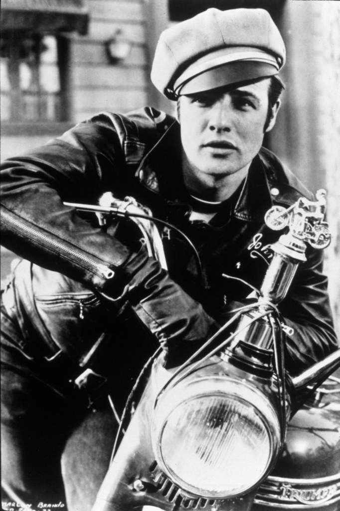 Marlon Brando the wild one