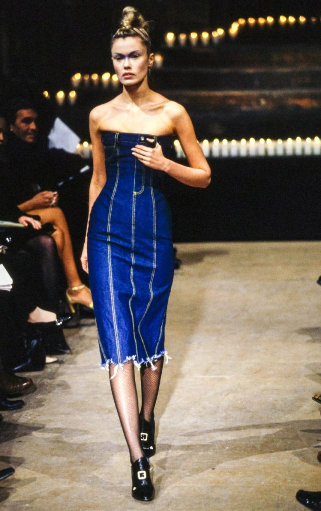 Alexander McQueen archival pieces featured in the Byronesque edit