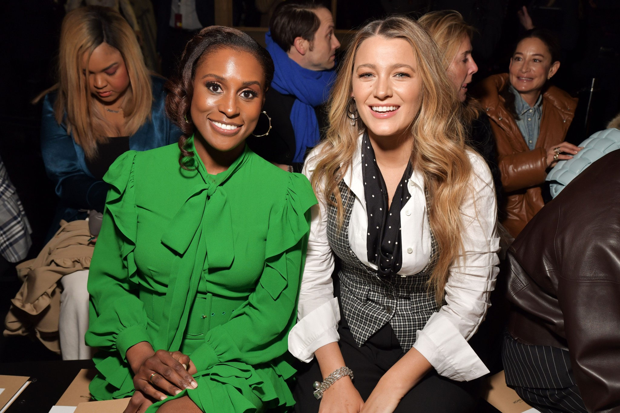 Issa Rae and Blake Lively