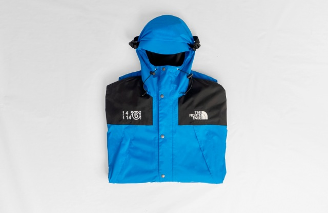 A look from the MM6 collaboration with The North Face.
