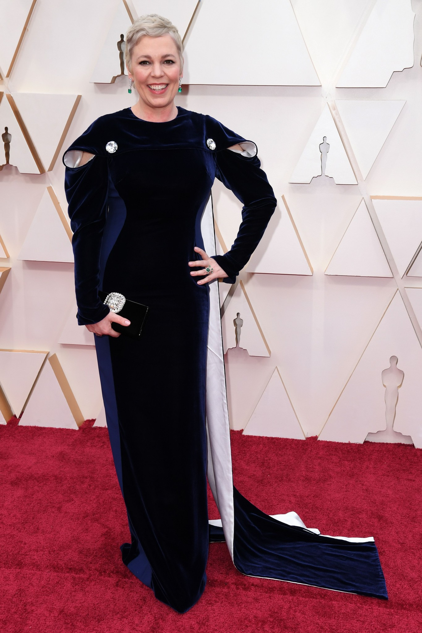 Olivia Colman at the 2020 Oscars.