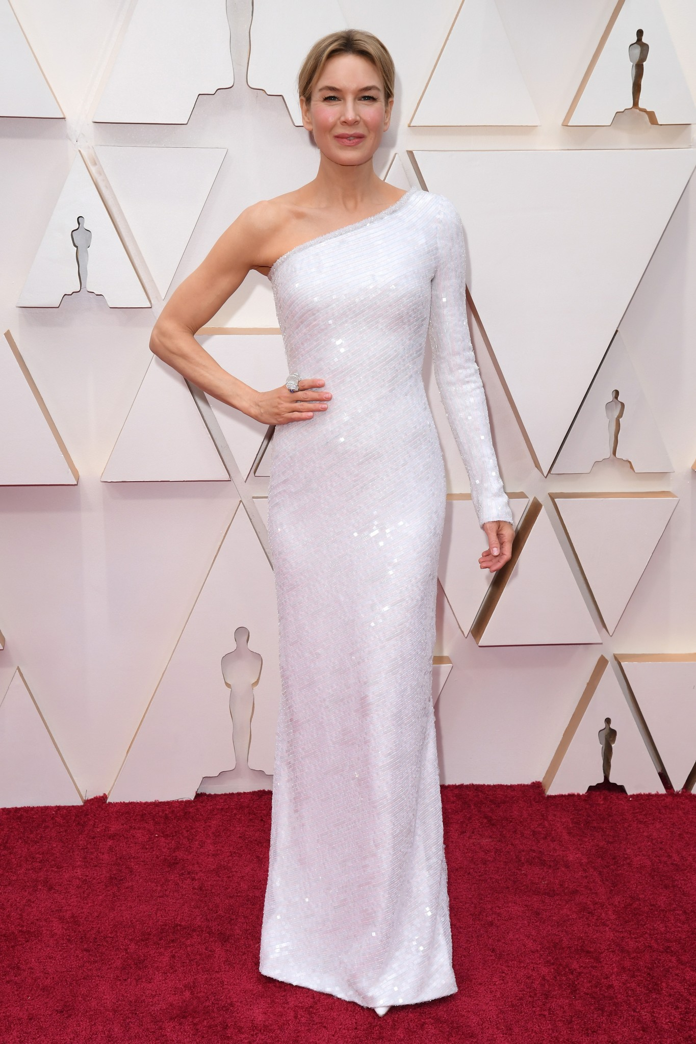 Renee Zellweger at the 2020 Oscars.