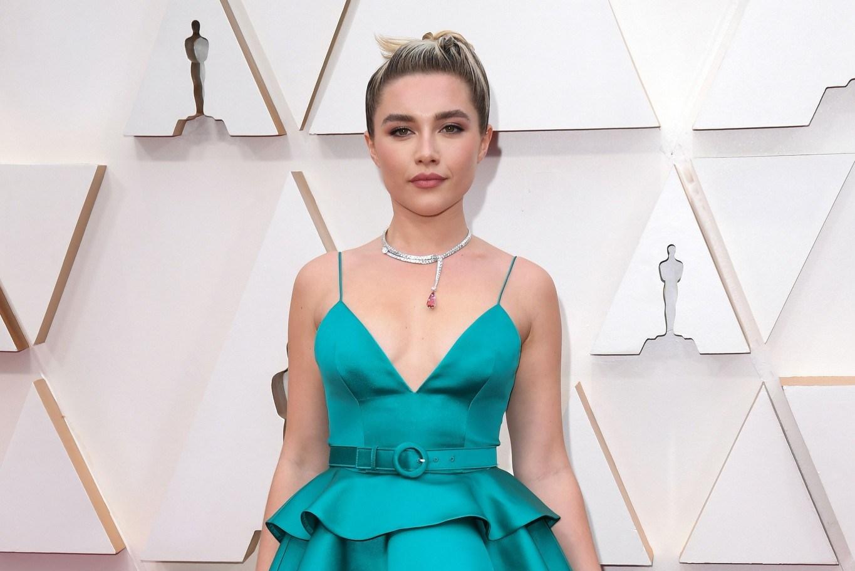 Florence Pugh at the 2020 Oscars.
