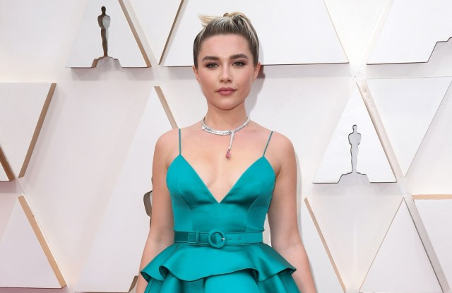 Florence Pugh at the 2020 Oscars.