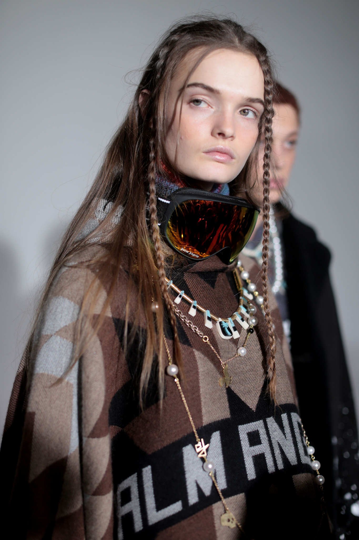 Backstage at Palm Angels RTW Fall 2020