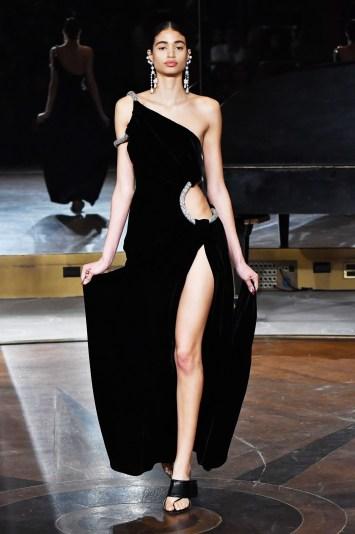 Model on the catwalkPrabal Gurung show, Runway, Fall Winter 2020, New York Fashion Week, USA - 11 Feb 2020