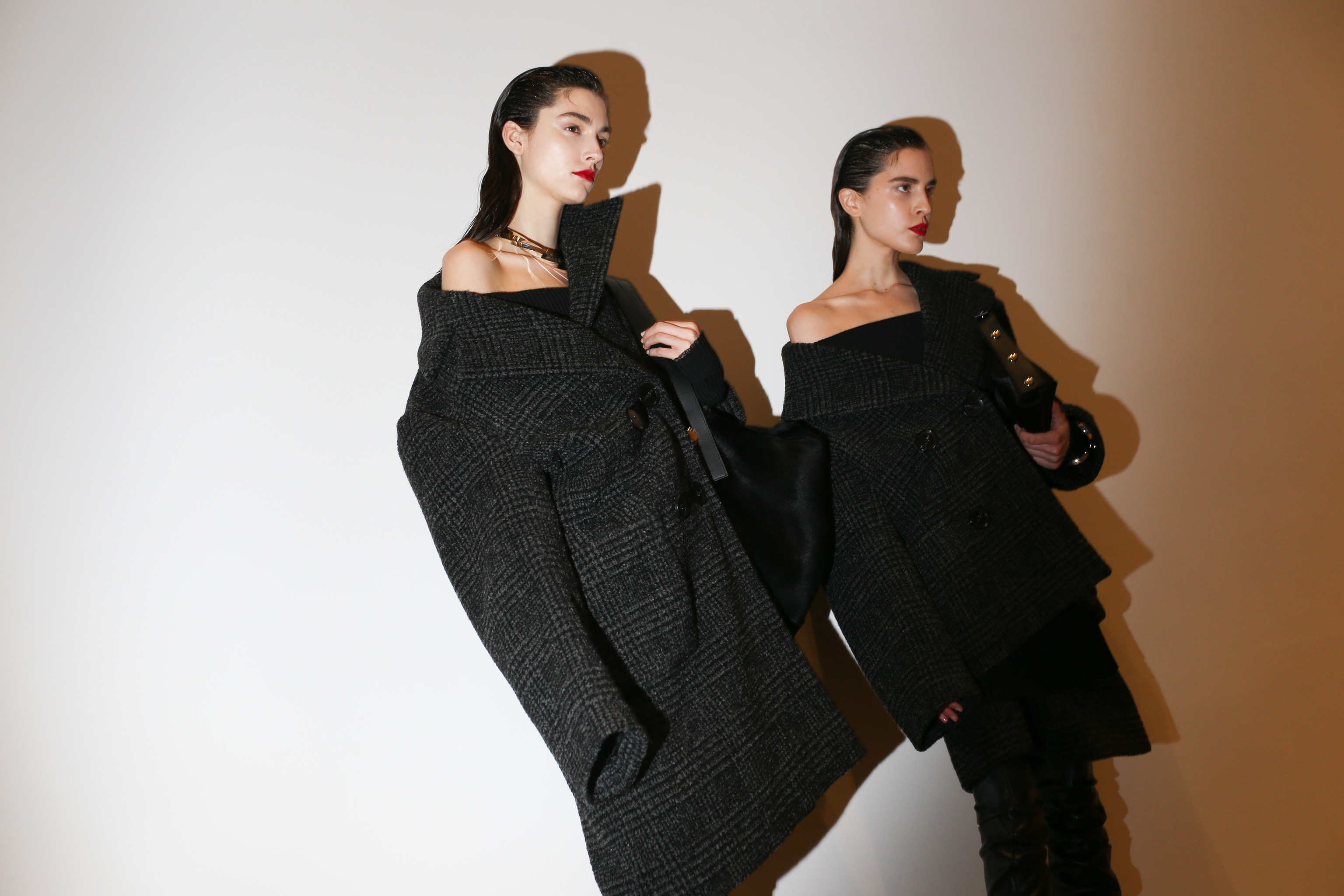 Backstage at Proenza Schouler RTW Fall 2020