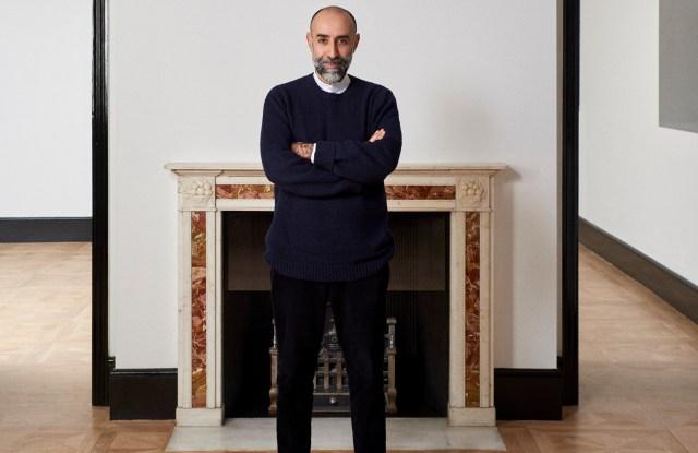 Rabih Kayrouz at his new London store