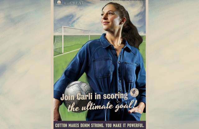 Soccer star Carli Lloyd is a modern-day Rosie the Riveter.