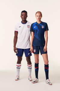 The soccer kit for the U.S. federation.