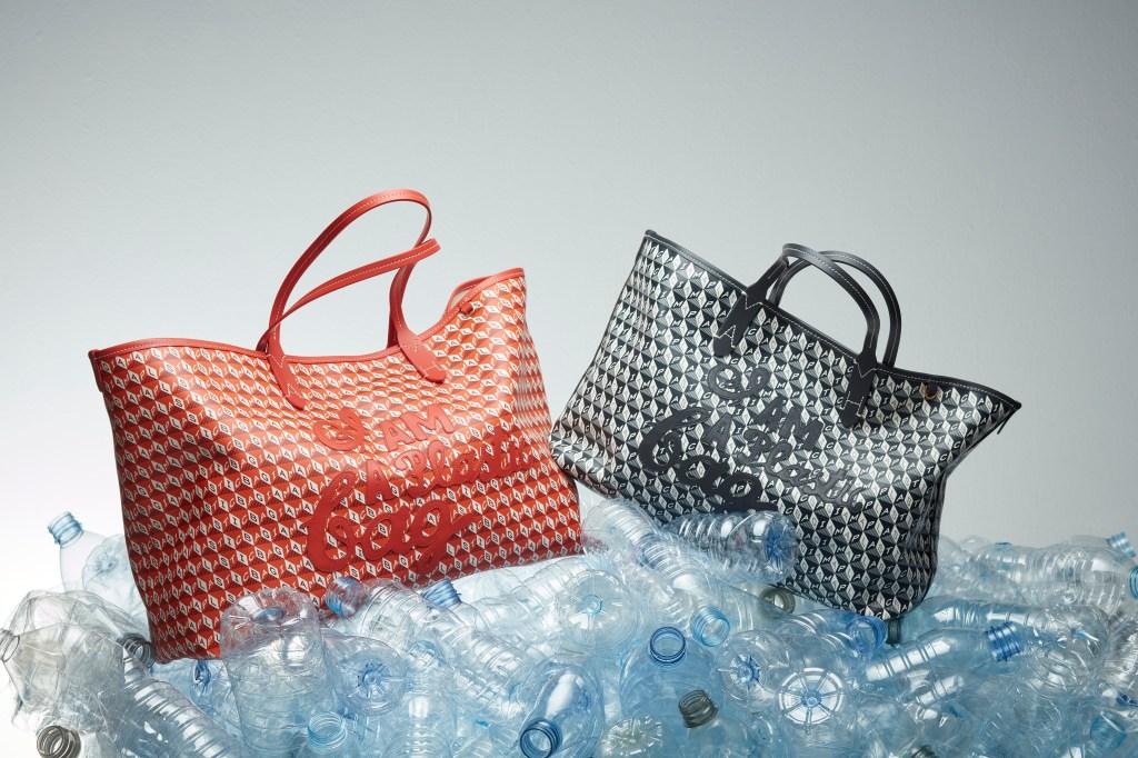 Anya Hindmarch's 'I Am A Plastic Bag' campaign