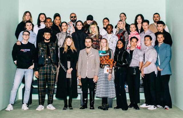 The semifinalists of the LVMH Prize for Young Designers.