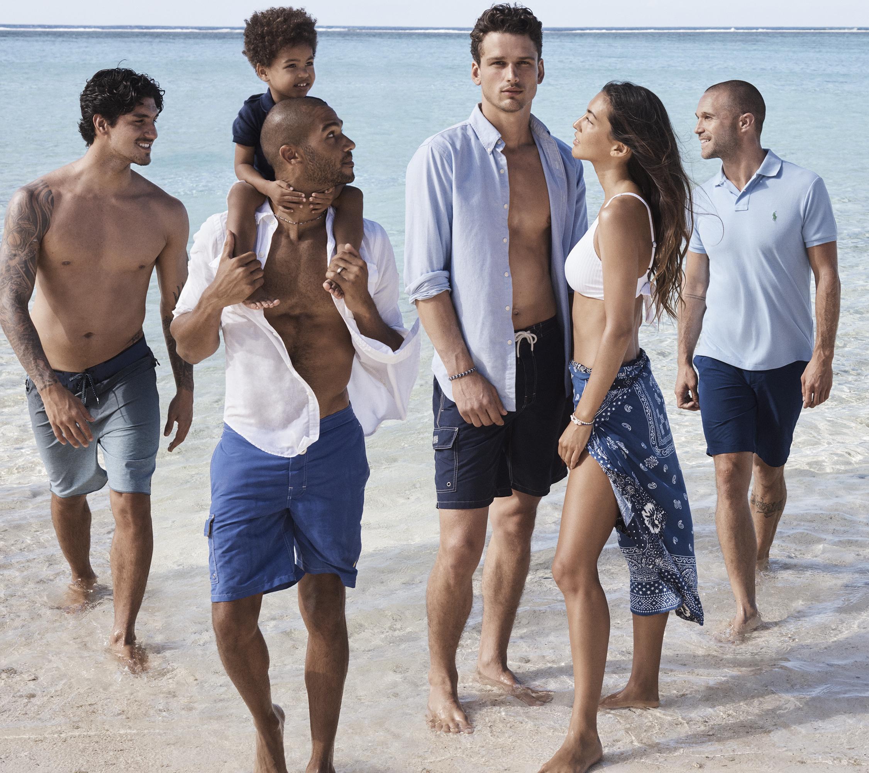 Ralph Lauren Polo Blue campaign